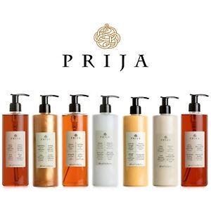 Prija Luxury Set Flüssigseife, Hair & Body, Bodylotion, Creme, Ginseng Shampoo