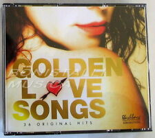 VARIOUS - GOLDEN LOVE SONGS - 3 CD Nuovo Unplayed