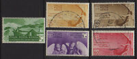ITALY 1935 Bellini Airmail Mint/Used  Sc.C79-C83 (Sa.A90/A94)