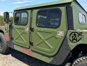 Hummer H1 Driver Side Door, Non-Painted NSN 2510-01-254-1482