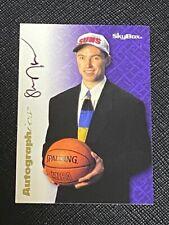 1996 Skybox Steve Nash Super Rare RC ROOKIE Auto Card SUNS