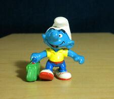 Smurfs 20426 School Boy Student Smurf Pupil Rare Vintage Figure PVC Toy Figurine