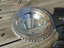 Vintage Silverplated Serving Bowl  International silver Bon Bon Bowl handcrafted
