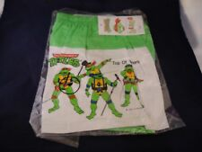 Rare Retro Teenage Mutant Ninja Turtles Green Swimsuit 1990 Mirage TMNT NEW Sz 6