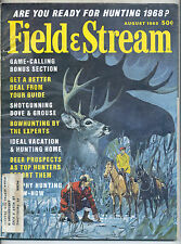 8/1968 Field and Stream Magazine