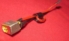 AC DC POWER JACK ACER ASPIRE ONE D255E-13412 D255E-13438 SOCKET w/ CABLE HARNESS