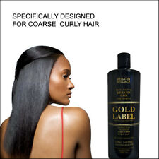 Gold Label Keratin hair Blowout treatment 240ml for Domincan and African Hair