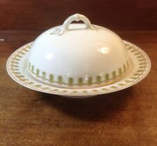 Vienna Austria Imperial Crown China Butter Server