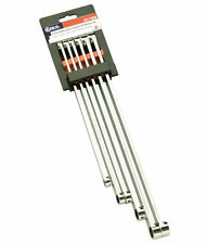 Genius Tools - 6 Piece Metric Extra Long Box End Wrench Set DE-706M