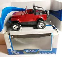 CITY SWIFTER - DIECAST - 4X4 WD - OPEN TOP - RED - 83520 - BOXED