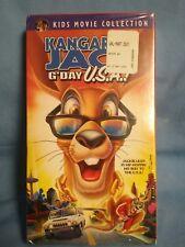Kids Movie Collection: Kangaroo Jack G'Day U.S.A. (2004) VHS Australia cartoon