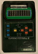 MATTEL CLASSIC FOOTBALL 2 HANDHELD GAME 2002 -- TESTED!