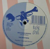 """THE BROTHERS ~ Brothers Groove ~ 12"""" Single"""