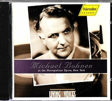 Michael Bohnen at the Metropolitan Opera, New York CD -Wagner/Mozart