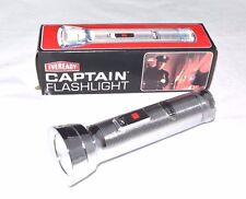 VINTAGE Eveready CAPTAIN Magnet FLASHLIGHT 1970s MODEL 9251 Made in USA NEW 7.5""