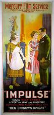 IMPULSE 1922 Neva Gerber, Jack Dougherty UK 3-SHEET POSTER