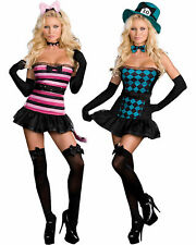 SEXY COSTUME Alice in Wonderland MAD HATTER RABBIT Bunny MAD ABOUT YOU Cosplay M