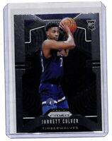 2019-20 Panini Prizm #252 Jarrett Culver rookie RC card Timberwolves
