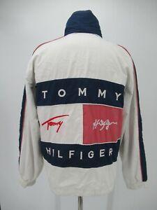 M1863 VTG Men's Tommy Hilfiger Back Big Logo Windbreaker Jacket