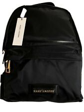 $250 NWT MARC JACOBS BLACK NYLON Large BACKPACK Authentic!!!