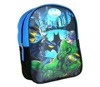 """DC Comics Batman Preschool 11"""" Mini Cordura Backpack Kids Boys School Bag NEW"""