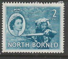 1956 NORTH BORNEO 2c DEFINITIVE SG 373 L/M/MINT