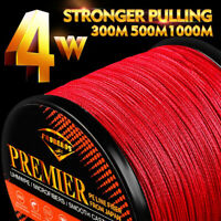 330-1094yds Fishing Line Strong 4 Strands Braided Line 6LB-100LB 6 Color Pe Line
