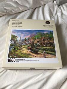 wentworth jigsaw - Peasant Village Life - 1000 Pieces