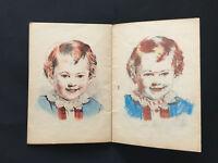 Les Jeunes Artistes N° 19. Enfantina, coloriage. Monrocq Edition.