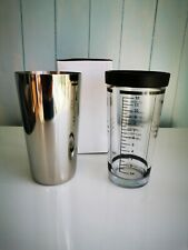 1 x Manhatten Bar Tenders Cocktail Shaker With Glass New