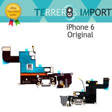 Flex Dock Conector Carga iPhone 6 Gris Negro Calidad Original PREMIUM