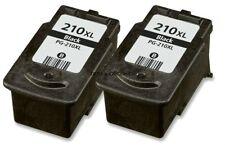 2-PK PG-210XL Black Ink Cartridges for Canon PIXMA MP495 MX320 MX340 Printer