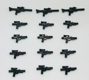 LEGO Star Wars Lot of 15 Blasters & Long Rifles Gun Weapons Accessories
