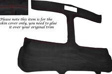 Rojo Stitch T Bar Targa T Top Alcantara Skin Tapa se ajusta Toyota Mr2 Mk2 89-00