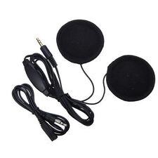 Motorbike Helmet Stereo Speakers Radio Headphone Volume Control 3.5mm jack