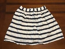 OshKosh B'gosh Girls Skirt, size 8,  blue and white stripe. cotton. EUC