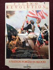 Revolution - 1985 movie poster.    Al Pacino