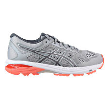Asics GT-1000 6 Women's Shoes Mid Grey-Carbon-Flash Coral t7a9n-9697