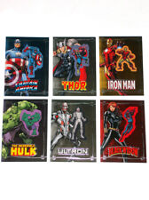 2015 Upper Deck Comic Con Exclusive Embedded Patch 6-Card Complete Set Marvel