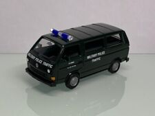 Herpa Maag US Army Military Police Traffic VW T3 Bus 8084