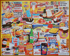 Things I ate as a Kid Vintage Snacks White Mountain 1000 pc Jigsaw Puzzle Family