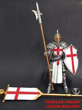 LOT of 4 Mythic Legions COVENANT OF SHADOW TEMPLAR KNIGHT Figures Four Horsemen