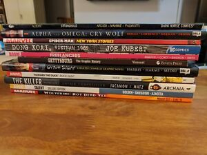 TPB Comics take your pick! Aliens, Spider-Man, Wolverine,Patricia Briggs & more!