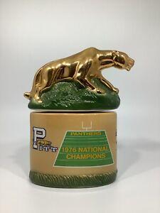 Mitchers Pitt Panther Decanter 1977- National Champions