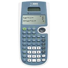 Texas Instruments TI30XS Solar Scientific Calculator with Multi-Line Display