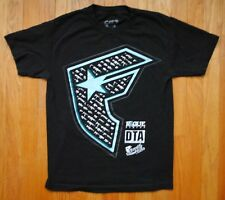 Rogue Status x DTA X Stars & Straps Gun T Shirt in Black Size Small All Cotton