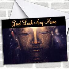 Bouddha Bronze Bonne Chance Personnalisé carte