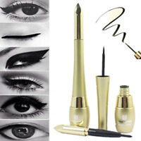 Black Waterproof Liquid Eyeliner Eyebrow Eye Liner Pen Pencil Makeup Cosmetic