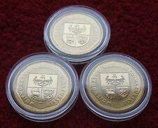POLAND SET OF COINS 2 ZL POLISH REGION WARMIA-MAZURY 2005 LOT ONE PIECE 1PC UNC