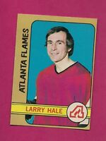 1972-73 OPC # 53 FLAMES LARRY HALE ROOKIE EX-MT CARD  (INV#3445)